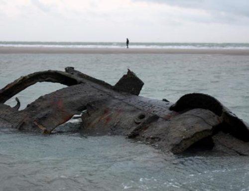 La marea descubre un mortífero submarino alemán de la I Guerra Mundial
