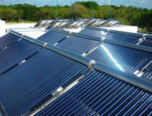 Instalarán 100 calentadores solares y evitará 100.000 toneladas de CO2