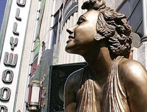 Arrestan a un hombre por el robo de una estatua de Marilyn Monroe en Hollywood