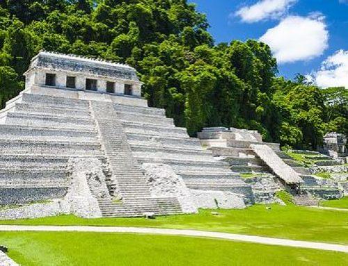 Google y el Museo Británico reconstruyen escalera maya