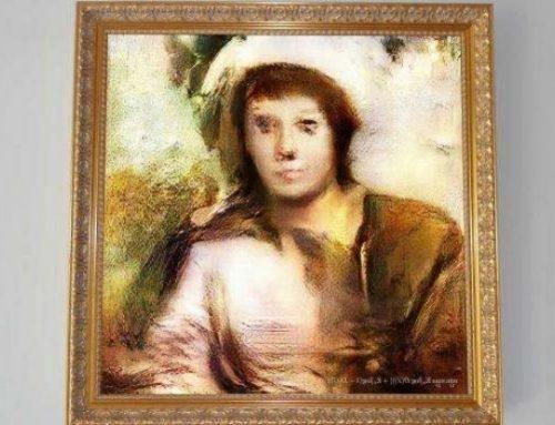 Pinturas hechas con inteligencia artificial decepcionan en subasta
