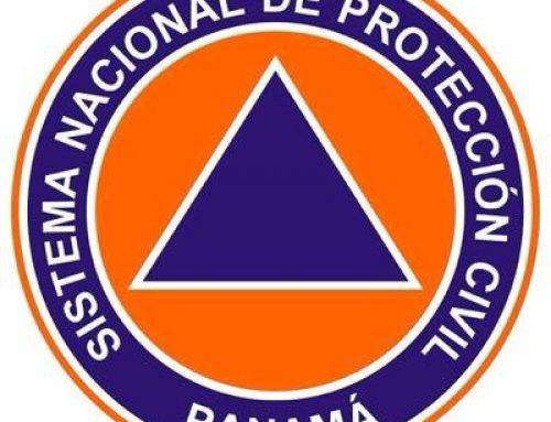 Sinaproc emite aviso de prevención por lluvias y ráfagas de viento
