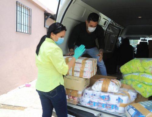 El MIDES entrega alimentos y artículos de limpieza a 15 Albergues y Casas Hogares