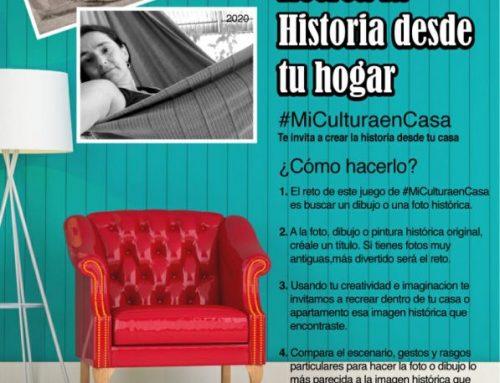 MiCultura te invita a recrear la historia desde tu casa