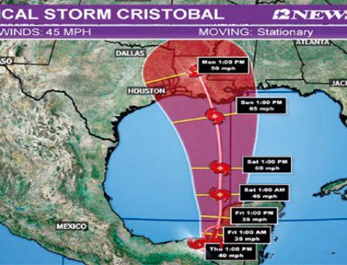 Tormenta Cristóbal mantiene lluvias sobre El Salvador