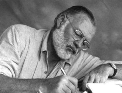 Sale a la luz un relato inédito de Hemingway