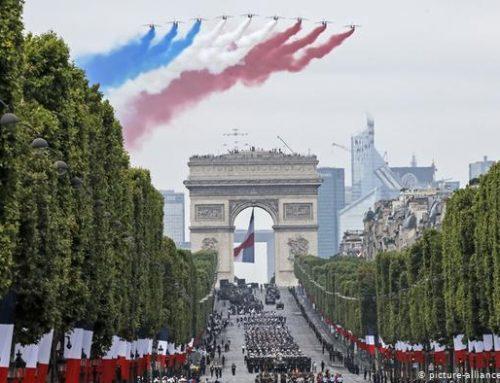 Francia cancela su tradicional desfile militar del 14 de julio por el coronavirus