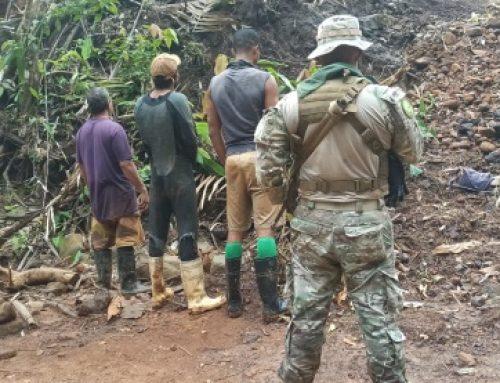 MiAmbiente, Regional de Colón, atiende denuncia de actividad ilegal de minería