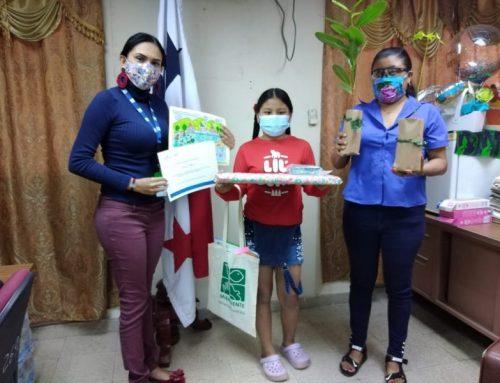 Ganadores del Concurso de dibujo y pintura, sobre impacto del Covid-19 en el ambiente, son premiados