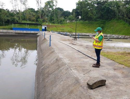Inspeccionan planta de tratamiento de aguas residuales en residencial de Arraiján