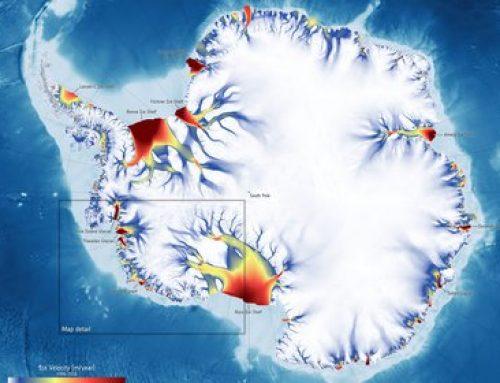 Los glaciares de la Antártida aceleran su deslizamiento hacia el océano