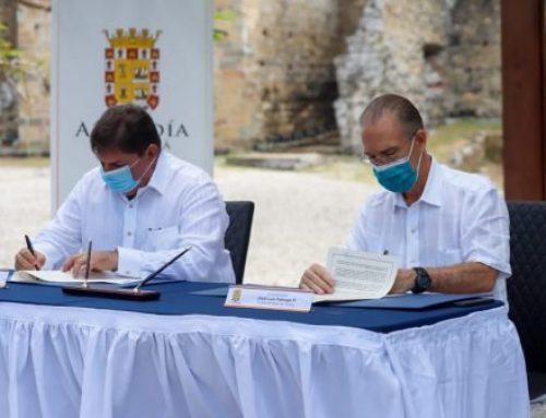 Autoridades de la Alcaldía y Patronato trabajarán por transformación del Conjunto Monumental de Panamá Viejo