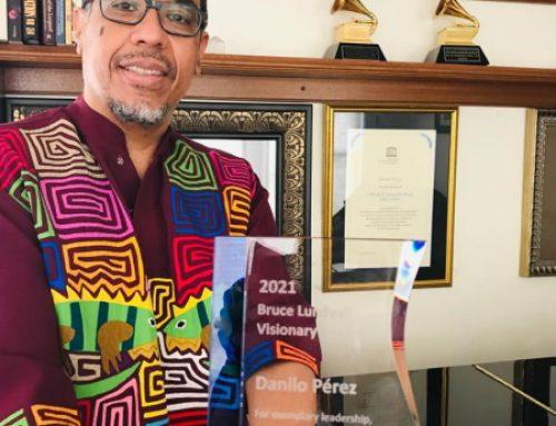Danilo Pérez recibe premio Bruce Lundwall Visionary Award