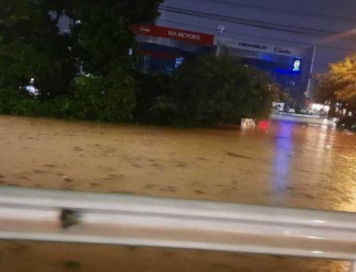 En Panamá, SINAPROC informó afectaciones en unas 400 casas, debido a las fuertes lluvias