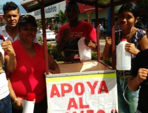 Colecta pública en beneficio de boxeo olímpico en Los Pueblos