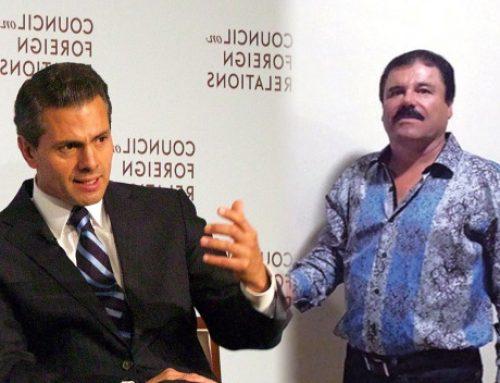 Niegan que Peña Nieto recibió sobornos de 'El Chapo'