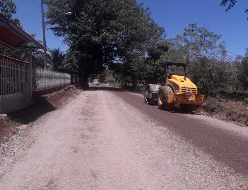 """La """"rehabilitación de calles del distrito de David"""", progresa en la comunidad de Pueblo Nuevo"""