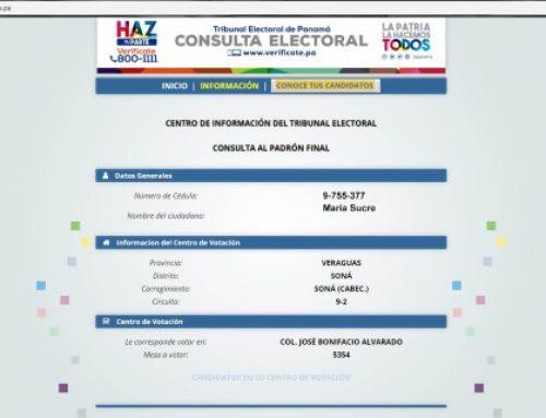 Propuestas de los candidatos pueden conocerse a través de página web del TE