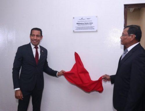 """Inauguran biblioteca """"Sonia Lima"""", en el Centro Penitenciario La Joya"""
