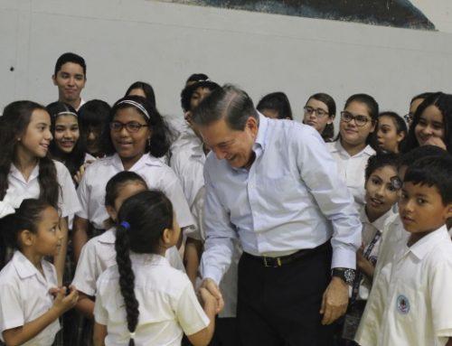 Presidente de Panamá, Laurentino Cortizo Cohen, realizó visita sorpresa al Instituto Técnico Don Bosco