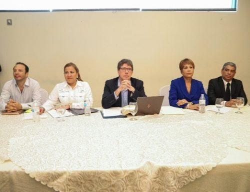 Gobierno se reunió con dirigentes colonenses para reactivar la economía de esta provincia