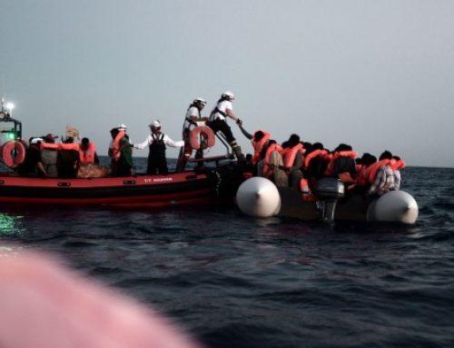 Casi 500 migrantes rescatados en cuatro días en Libia