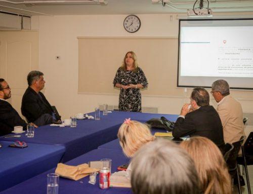 Viceministra encargada de Asuntos Multilaterales y Cooperación, Carmen Gisela Vergara, compartió con APEDE el rol de PROPANAMÁ