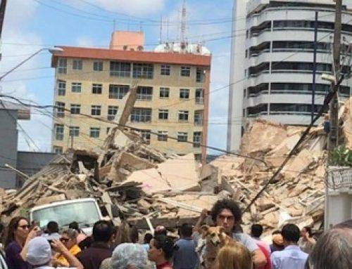 Se derrumba edificio en Brasil; muere una persona
