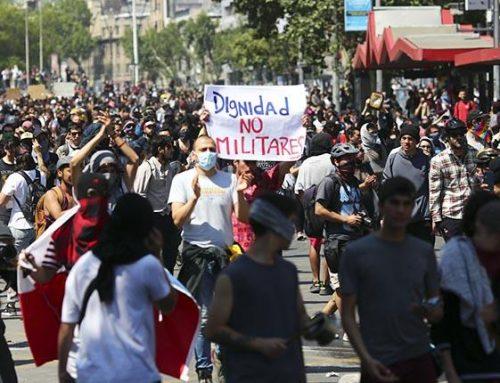 Disturbios en Chile se extienden a todo el país