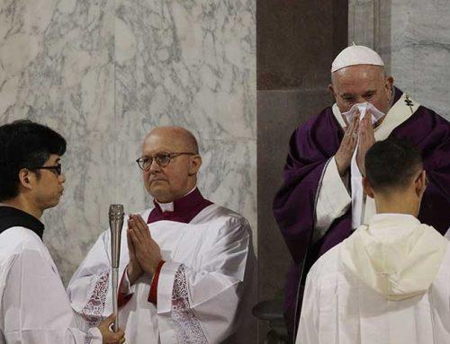 "Papa Francisco cancela misa por ""ligera indisposición"""