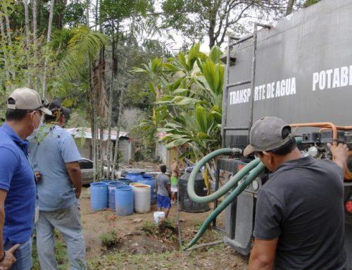 MINSA abasteció de agua potable a varias comunidade