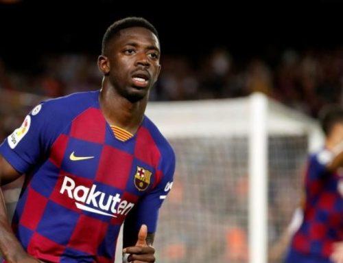 Dembélé ya sigue su recuperación en la Ciudad Deportiva