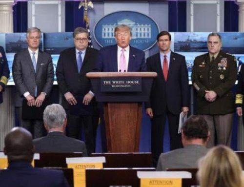 Donald Trump anuncia un despliegue militar
