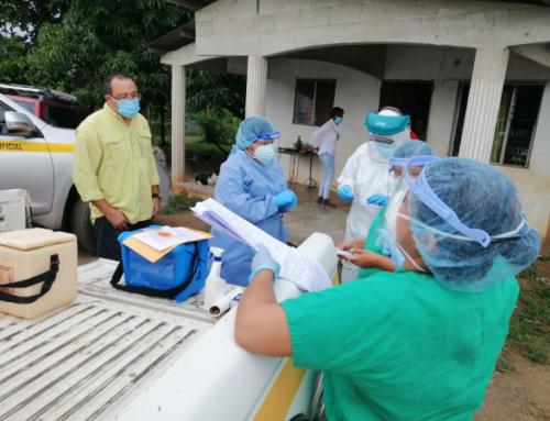 ERR realiza pruebas rápidas de antígeno en Las Cabras de Pesé