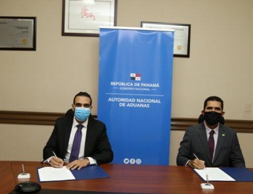 Representantes de la Autoridad Nacional de Aduanas y Georgia Tech Panamá Foundation, firman Acuerdo de Cooperación