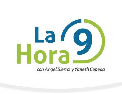"""Director de la Comisión de Símbolos Patrios, Vladimir Berrío, participa en """"La Hora 9"""""""
