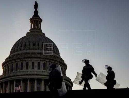 Falsa alarma en el Capitolio por un incendio en sus proximidades