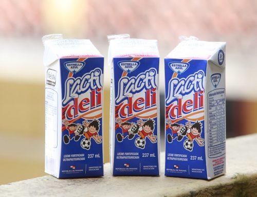 Representantes del MEDUCA, distribuirán leche fortificada a 223,375 estudiantes de 584 centros educativos, en Panamá