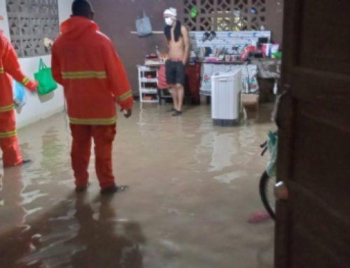 Equipo de CONAPRO, atiende caso de contingencia por lluvias en la provincia de Chiriquí
