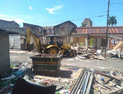 MIVIOT de Panamá, demuele albergue Divino Niño en El Chorrillo, para construir nuevas estructuras