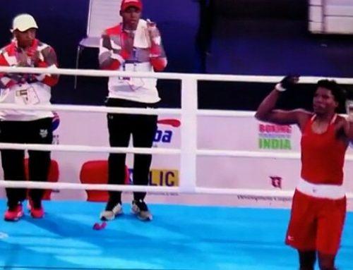 La boxeadora panameña Atheyna Bylon debuta con triunfo