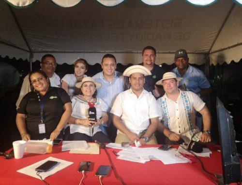 Transmisión de los actos cívicos desde La Villa de Los Santos