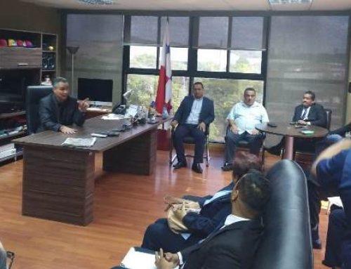 Reunión de coordinación y preparación entre SERTV y TE