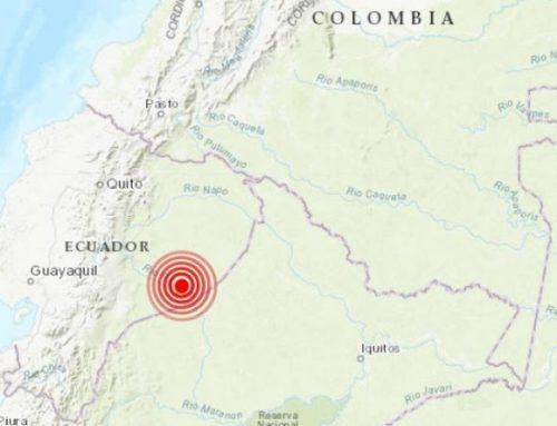 Sismo de 7,55 grados de magnitud sacude Ecuador sin que se reporten víctimas