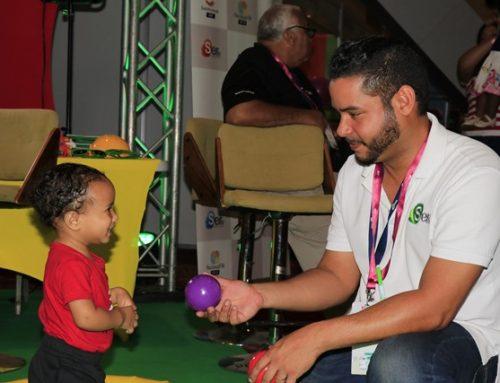 Sano entretenimiento presentó SERTV en la Feria del Bebé 2019