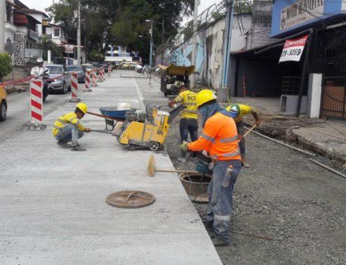 Se sigue rehabilitando nuevas calles en el distrito de Panamá.