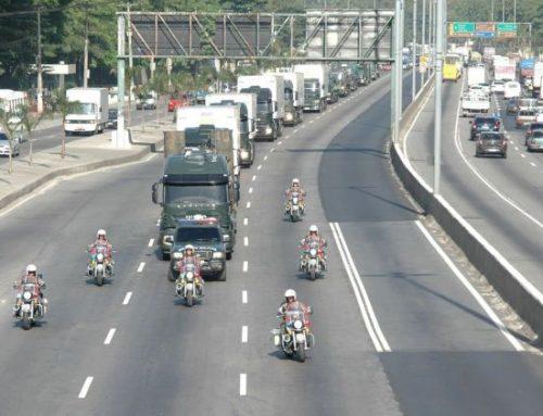 Convoy con combustible nuclear es blanco de disparos en Rio de Janeiro