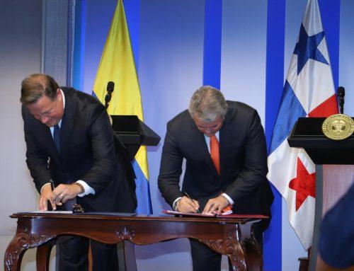 Presidentes Varela y Duque fueron testigos de la firma de un memorando de entendimiento de cooperación en materia de seguridad ciudadana y defensa