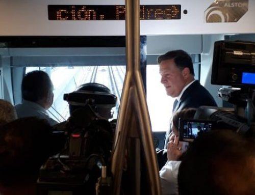 Línea 2 del Metro de Panamá será inaugurada el 25 de abril por el Presidente Varela