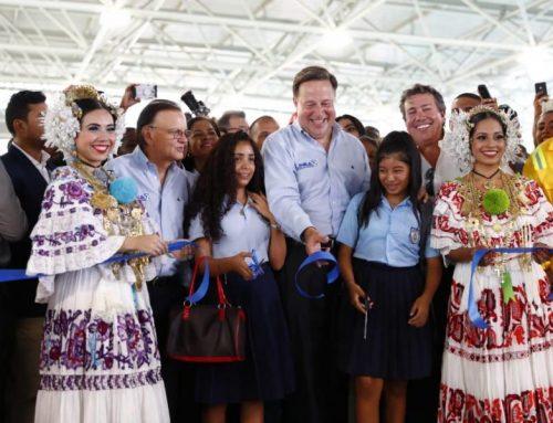 Línea 2 del metro de Panamá es inaugurada por el Presidente Varela